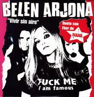 BELEN ARJONA DUETO CON FHER DE MANA - VIVIR SIN AIRE CD SINGLE PROMO 1 TRACK