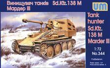 Unimodel 1/72 SD KFZ Marder III 138 M # 344