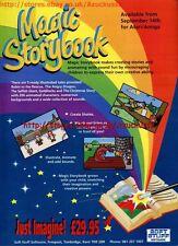 """Magic Storybook """"Soft Stuff Software"""" 1991 Magazine Advert #5594"""