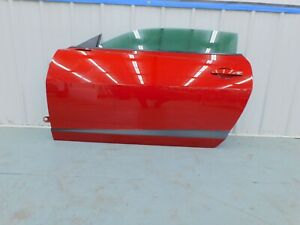 """2010 2015 Chevrolet Camaro SS V6 LH Driver Door Complete w/Glass """"RED"""" OEM"""
