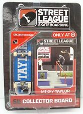 Street League Skateboarding Pro Series 1 Blue Skateboard Mikey Taylor Card