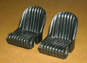 1/18 Scale Shelby Cobra Plastic Front Racing Seats (2 pcs) Ertl Car Model Parts