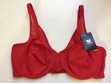 Body By Wacoal 65115 Seamless Underwire Bra Red 34B NWT!
