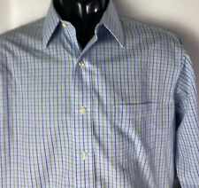 Brooks Brothers Regent Dress Casdual Shirt Non Iron Plaid Checks Sz 16 /35