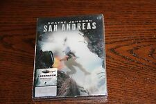 San Andreas 3D/2D Blu-ray Steelbook [HDZeta] Mint OVP Sealed Dwayne Johnson