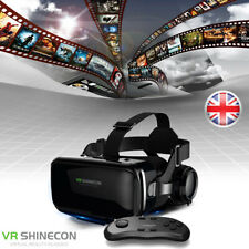 More details for 3d virtual reality vr glasses headset box helmet for google samsung iphone