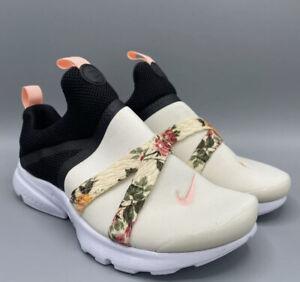 NIKE PRESTO EXTREME Vintage Floral [BQ5296-001] Size 3Y