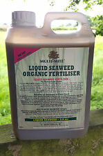 2.5 Litre ORGANIC LIQUID SEAWEED CONCENTRATE LITRE PLANT FEED FOOD