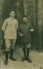 Photo ancienne soldats guerre 14 / 18  prisonniers de guerre en Allemagne