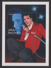 Maldive Islands - 1995, naissance ann. de Elvis Presley feuille-neuf sans charnière-SG MS2346