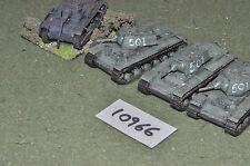"""15mm in plastica """"soldati"""" WW2 RUSSIAN veicoli (come foto) (10966)"""