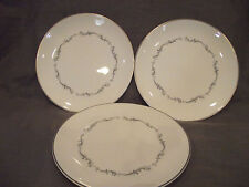 Set of 3 Royal Doulton Coronet Salad Plates