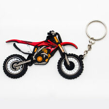Motorcycle Model Cool Keyring Keychain Key Chain Pendant New For Red Honda CRF
