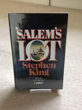 SALEM'S LOT - Stephen King Hardback 1975 Doubleday. Mint Condition.