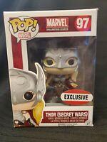 Funko POP! Marvel: Thor Secret Wars #97 Marvel Collector Corps Exclusive