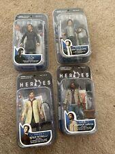 Lot 4 Heroes Series 1 Sylar Peter Hiro Mohinder Mezco