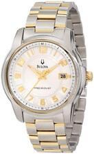 Bulova Men's Precisionist Claremont Two-Tone Bracelet Watch 98B140