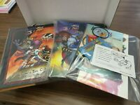 Earthworm Jim Launch the Cow, Making Of, Doug TenNapel, signed complete box
