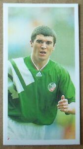 ROY KEANE REPUBLIC OF IRELAND ROOKIE BARRATT WORLD CUP BEATERS FOOTBALL CARD 93