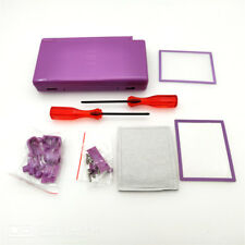 Purple Housing Shell Case Kit For Nintendo DS Lite NDSL DSL Case