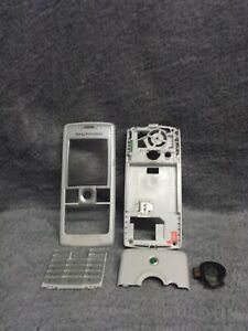 Sony Ericsson T630 Handy Gehäuse weiss #2 BC mobile phone case housing white