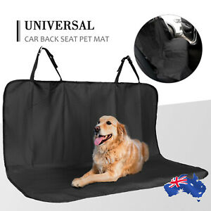 Heavy Duty Waterproof Pet Car Cover Back Seat Hammock NonSlip Protector Mat Dog