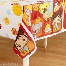NI HAO KAI-LAN PLASTIC TABLE COVER ~ Birthday Party Supplies Decorations Cloth