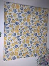 Laura Ashley Valance Charlotte Yellow Blue White Cottage Floral Confetti 82 x 17