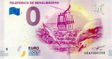 ESPAGNE Benalmádena, Teleférico, 2019, Billet 0 € Souvenir