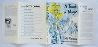 A Touch Of Magic Betty Cavanna DUST JACKET ONLY Vintage Children's DJ