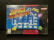Space Invaders (Super Nintendo Entertainment System, 1997) SNES NEW Sealed