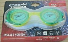 Speedo Adult Endless Horizon Goggle Color Lime/Orange