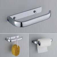 Support rouleau papier toilette salle de bains Porte-serviettes Stainless Steel