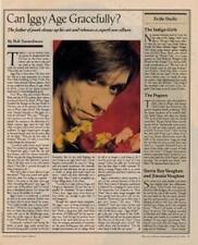 Iggy Pop Interview/article 1990