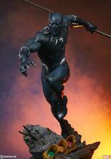 Sideshow Marvel Black Panther Avengers Assemble Statue - Wakanda, Thanos