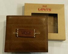 Portafoglio Levi's in Pelle Marrone