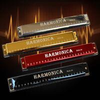 EG_ 24 Holes Tremolo Harmonica Musical Armonica Woodwind Instruments Mouth Ogan