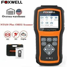 FOXWELL NT630 Automative ABS SRS SAS Reset OBD2 Code Reader Diagnostic Scanner