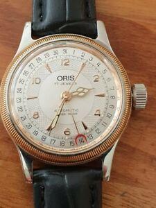 Oris Ladies Big Crown Date Pointer Swiss Automatic Mechanical Watch