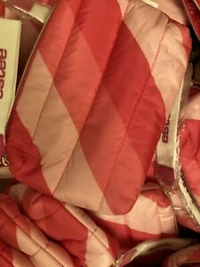 Lot of 10 Estee Lauder Signature Cosmetic Bag Pink/White 0921M GWP NEW