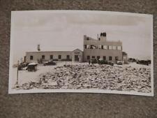 RPPC, Summit House, Midway to Pikes Peak, used vintage card, 1930`s