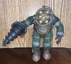 NECA Bioshock 2 Big Daddy Bouncer Action Figure Has Damage helmet Missing tank