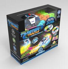 Magic Track Twister Tracks Neon Glow in the Dark Track Bridge & Tunnel Set Acc