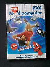 IO AMO IL COMPUTER - corso interattivo per l'apprendimento dell'uso del pc