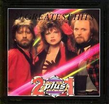 2 plus 1 - 21 Greatest Hits (CD) 2+1  NEW