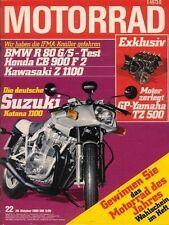 M8022 + Vorstellung SUZUKI GSX 1100 S Katana + MOTORRAD 22 1980