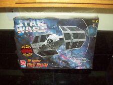 Amt Star Wars Darth Vader Tie Fighter Flight Display Space Ship Model Kit