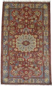 5X8 Tribal Rare Design Handmade Vintage Oriental Rug Home Decor Carpet 4'9X8'3