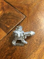 Rogue Trader Squat With Plasma Gun  #1 Warhammer 40k Metal Squats  OOP