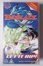 BEYBLADE VOLUME 2 VIDEO VHS INCLUDES 3 EPISODES 2002 63 MINS ANIMATED